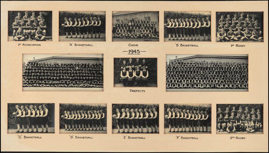 Palmerston North Technical School Photographs, 1945