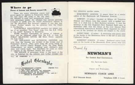Palmerston North Diary: December 1957 - 3