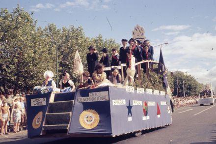 Centennial Parade - Girls brigade float