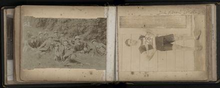 R.E. (Dick) Moxon - Photograph and news clipping album - 13