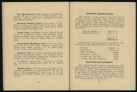 City of Palmerston North Municipal Hand Book 1937 25