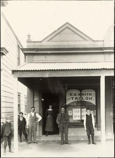 E E Smith's Tailor shop, Foxton