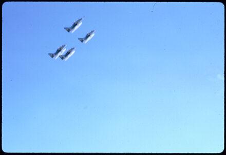 RNZAF Skyhawks - 1971 Palmerston North Centennial Jubilee Parade