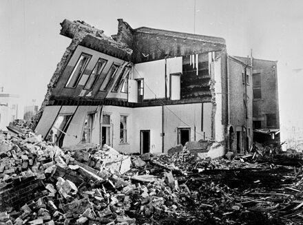 Demolition of Coles building, The Square