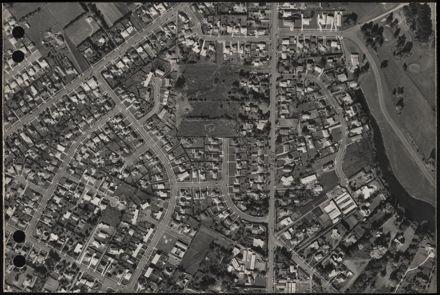 Aerial map, 1966 - F15