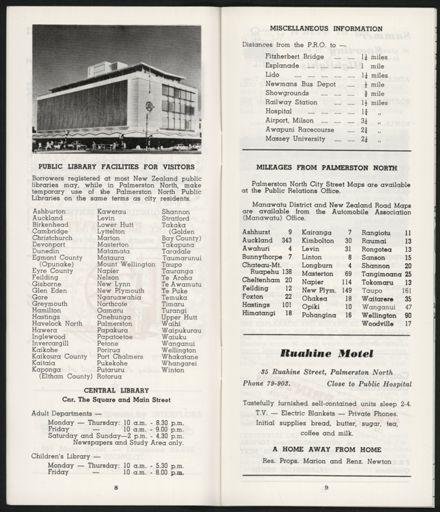 PRO Visitors Guide: Circa 1970's - 6