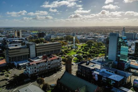Aerial View of Palmerston North