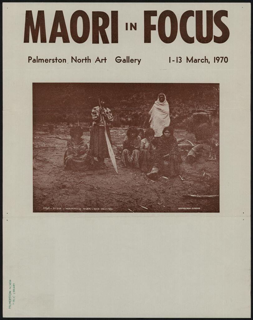 Palmerston North Art Gallery - Maori in Focus Programme 1