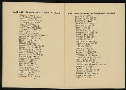City of Palmerston North Municipal Hand Book 1937 7