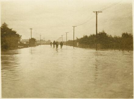 Flooding, Rangitikei Street