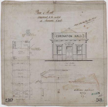 Plan of Coronation Hall
