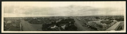 Panorama of The Square - 1923