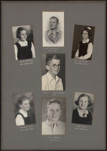 Terrace End School Student Leaders, 1941/1942