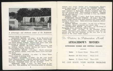 Palmerston North Diary: December 1957 - 4