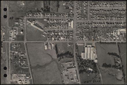 Aerial map, 1966 - D7