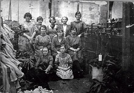 Manawatu Hosiery Factory staff