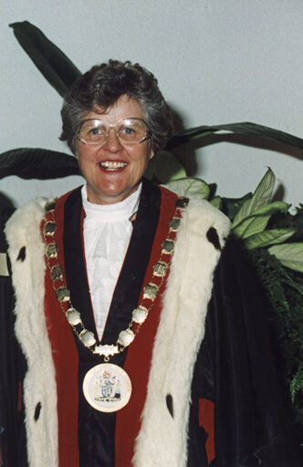 Jacqueline Jill White - Palmerston North Mayor 1998 - 2001