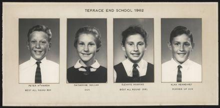 Terrace End School Student Leaders, 1962