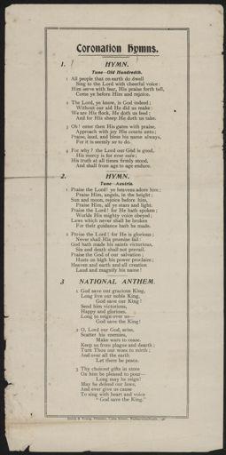 'Coronation Hymn'