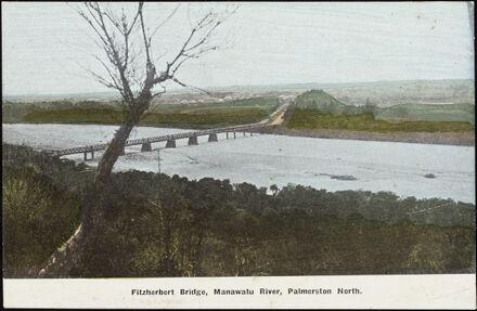 Page 1: Fitzherbert Bridge across the Manawatu river