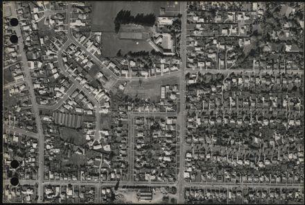 Aerial map, 1966 - F12