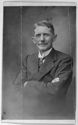 Mr F D Opie, First Director of the Palmerston North Technical School