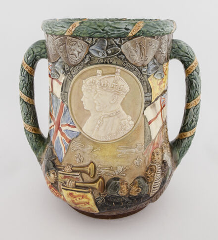 Image 3: 'A Loving Cup' commemorating 25 years reign for King George V & Queen Mary