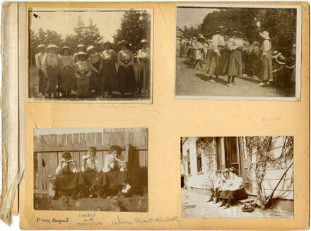 Craven School for Girls Photograph Album Page 1