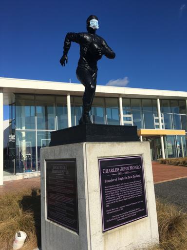 Charles Monro Statue - COVID-19 Pandemic