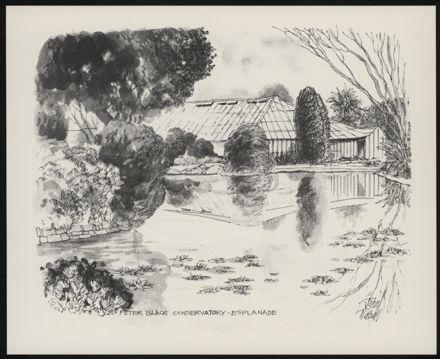 Palmerston North: A Portfolio of Six Sketches 7