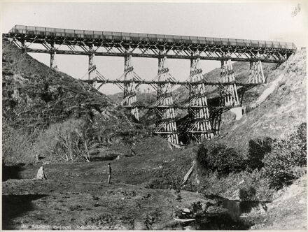 The Belmont Viaduct: Wellington - Manawatu Line train bridge
