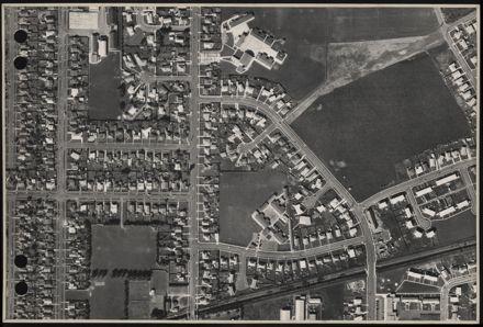 Aerial map, 1966 - J10