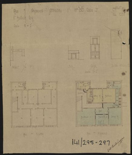 Architectural Plans for National Bank of New Zealand, Corner of Cuba Street & Rangitikei Street 8