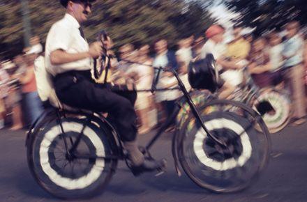Centennial Parade - bicycle