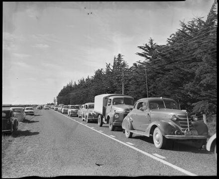 """""""Road Congestion at Ohakea"""" Air Display"""