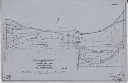 Plan of Municipal Golf Links
