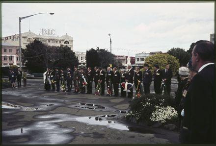 Battle of Britan Parade, The Square