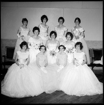 """Debutantes at Masonic Ball"""