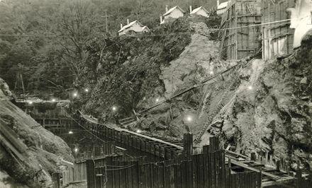 Construction Site - Mangahao Electric Power Scheme -