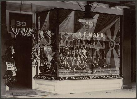 A. E Mann's Bootshop