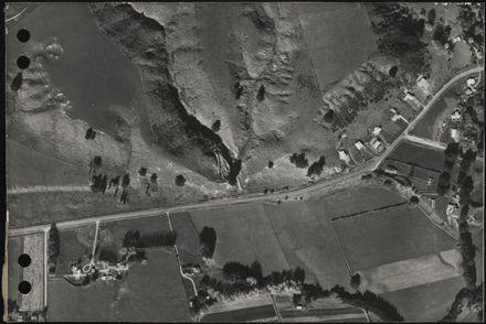 Aerial map, 1966 - E18