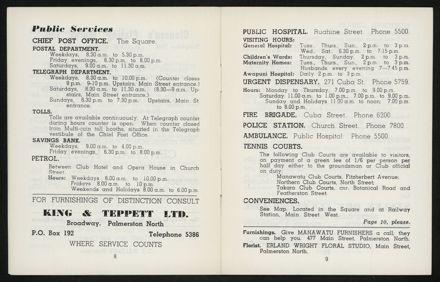 Palmerston North Diary: April 1958 6
