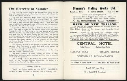 Palmerston North Diary: December 1957 - 5