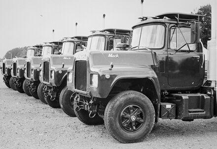 New Zealand Army trucks, Linton Army Camp