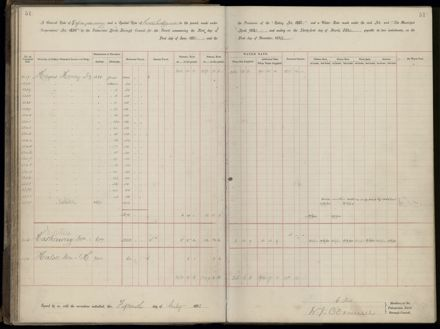 Palmerston North Rate Book, 1893 - 1896, 56