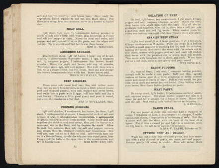 Town and Country Patriotic Women Worker's Cookery Book: Page 18