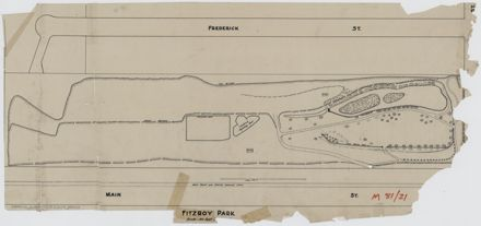 Layout of Fitzroy Park