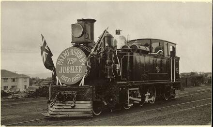 Palmerston North 75th Jubilee engine
