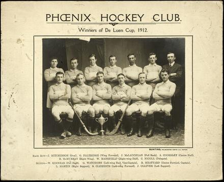 Phoenix Hockey Club - Winners of the De Luen Cup