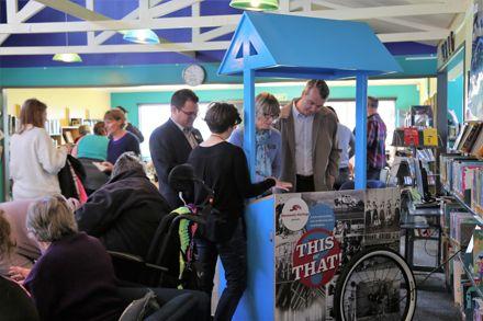 Manawatū Heritage Kiosk Launch at Te Pātikitiki